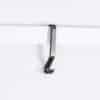 black molding hook, picture rail hook in bronze
