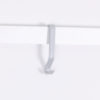 molding hook, picture rail hook in grey