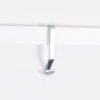 silver molding hook, picture rail hook in silver