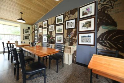 Picture Hanging System Cedar Coffee1