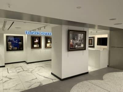 Walker Display at Leipzig Galleries in Harrods, London
